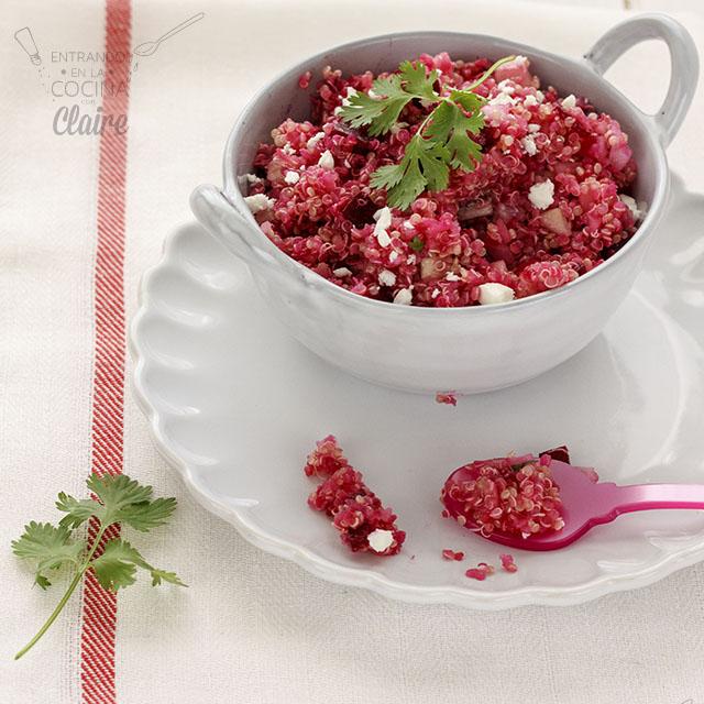 Ensalada de quinoa y remolacha - Destacada