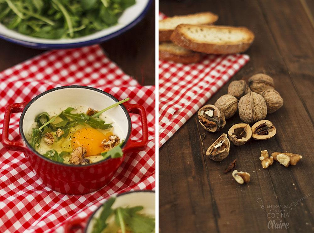 Minicocotte de huevos con rocafort 01