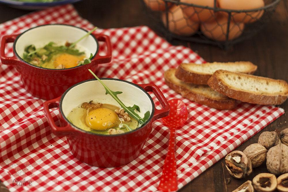 Minicocotte de huevos con rocafort 02