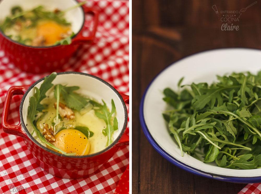 Minicocotte de huevos con rocafort 04