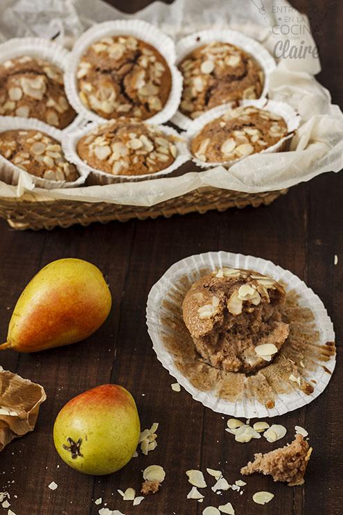 Muffins de pera 04