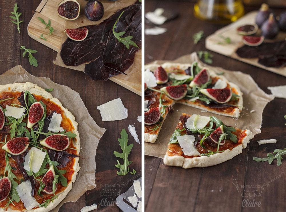 Pizza de cecina con higos 56