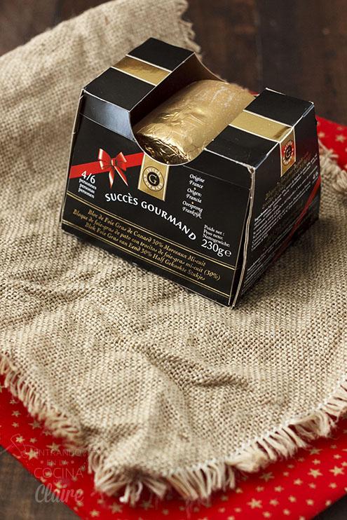 Aperitivo Foie con compota de manzana Lidl 002_1
