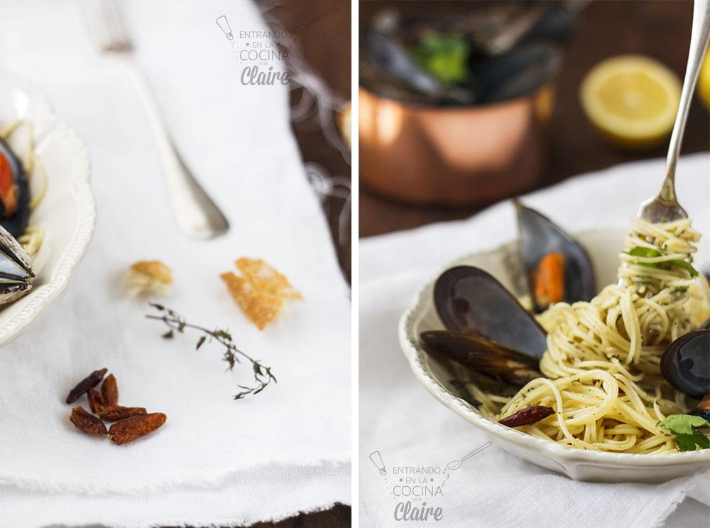 Espaghettis con mejillones 010