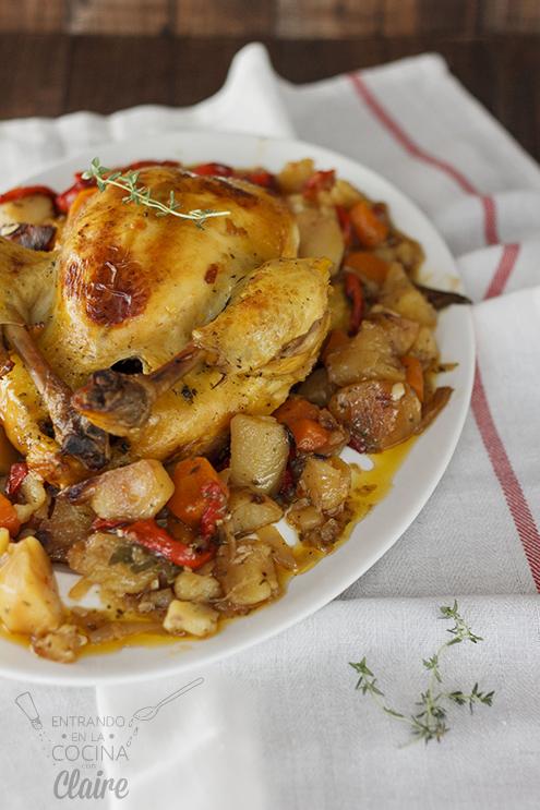 Pollo asado con verduras 009_1
