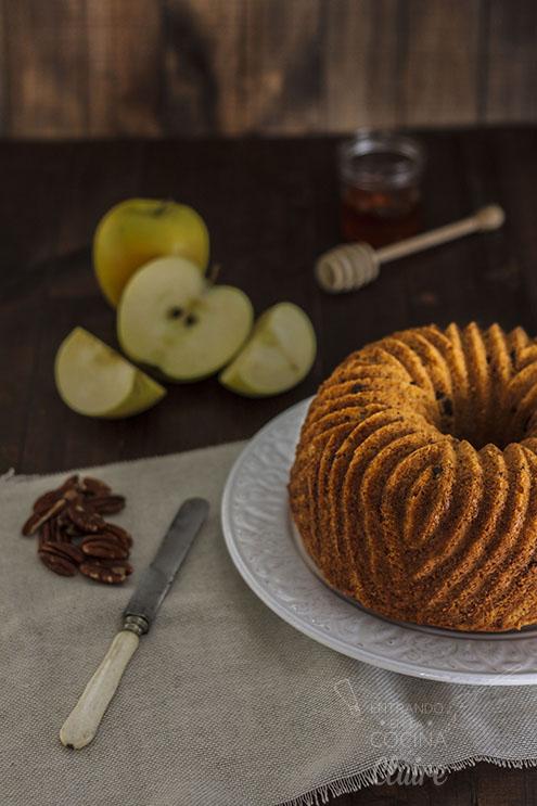 Bundtcake de manzana y nuez 013_2 Revista