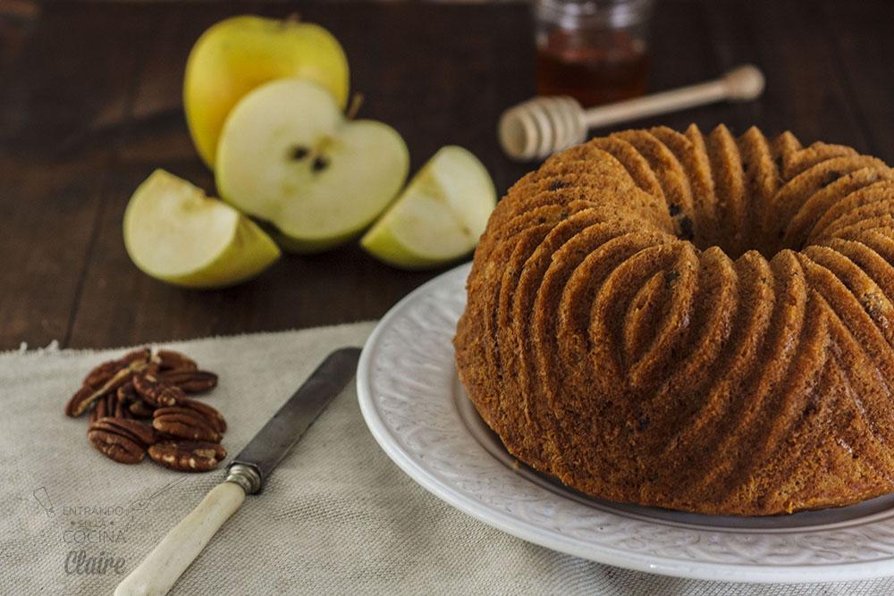 Bundtcake de manzana y nuez 014_1 Revista