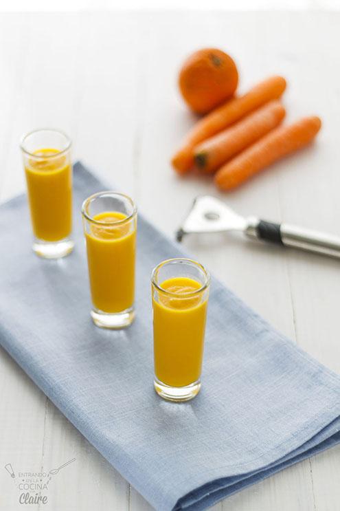 Crema de zanahoria y naranja 01