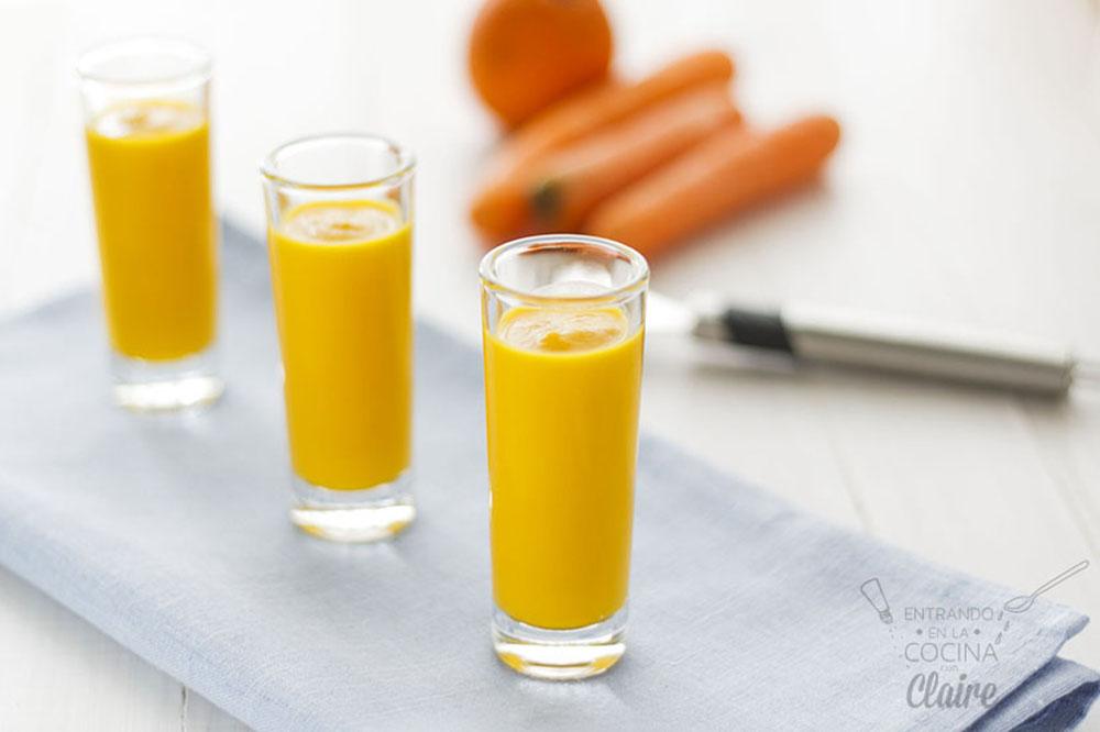 Crema de zanahoria y naranja 02