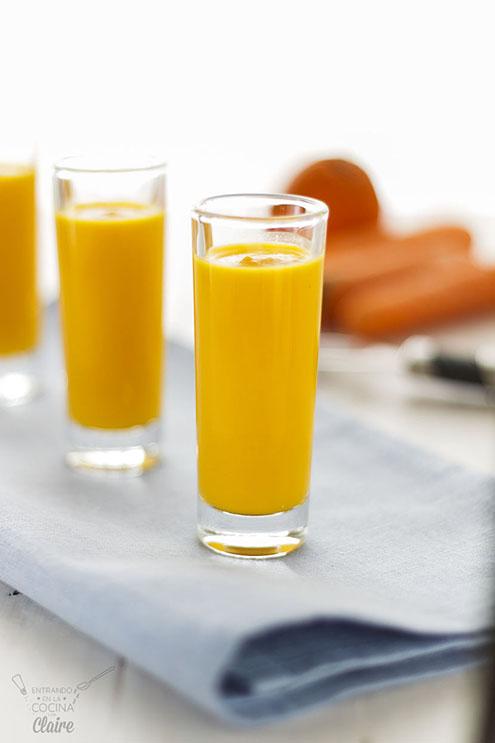 Crema de zanahoria y naranja 04