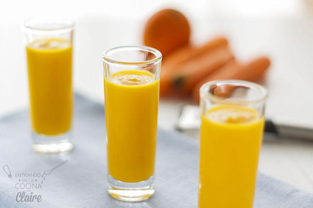Crema de zanahoria y naranja 05